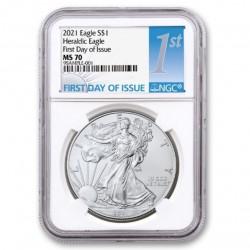 1 oz US Eagle 2021 First...