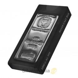 1 kg silver cast bar...