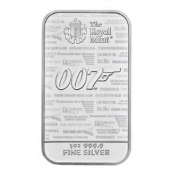 1 oz James Bond 007 No Time...