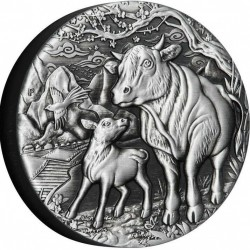 2 oz Year of the Ox 2021...