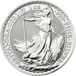 1 oz Britannia 2021 silver...