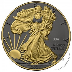 1 oz US Eagle 2021 Golden...
