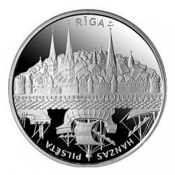 1 Lats Hanseatic City Riga...
