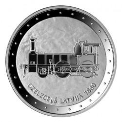1 Lats Lotyšská železnice...