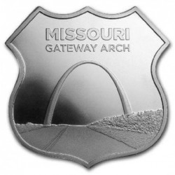 1 oz ROUTE 66 Missouri...