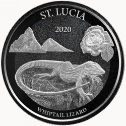 1 oz St. Lucia Whiptail...