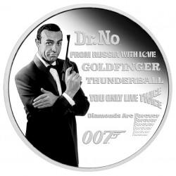 1 oz James Bond Legacy 2021...