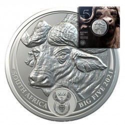 1 oz Big Five Buffalo 2021...