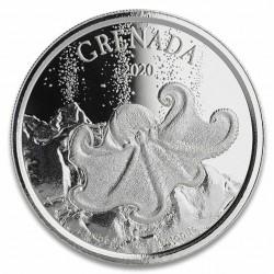 Silver coin 1 oz Octopus...