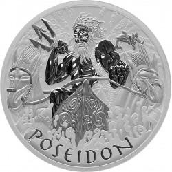 1 oz Bohové Olympu Poseidon...