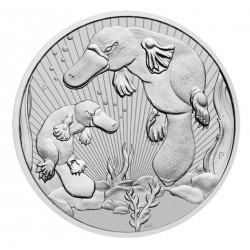 2 oz Platypus and baby 2021...
