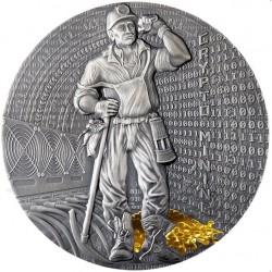 CRYPTO MINING Silver Coin...