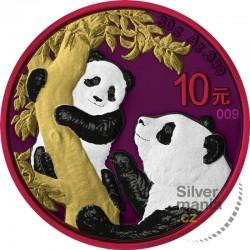 1 oz China Panda SPACE...