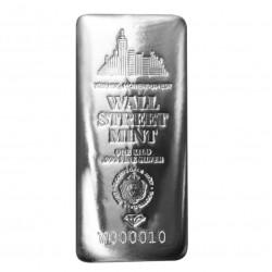 1 kg stříbrný slitek Wall...