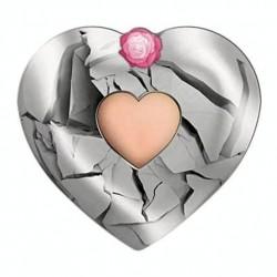 2 Dollars stříbrné srdce...