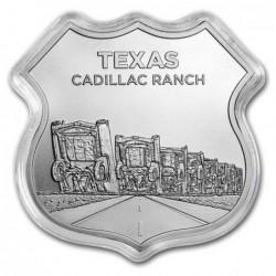 1 oz ROUTE 66 Texas...