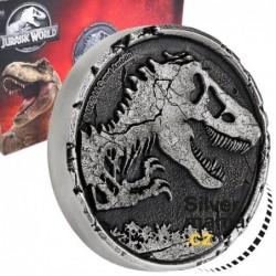 2 oz Jurassic World silver...