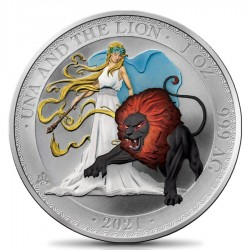 1 oz Una and Lion Angel and...