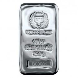 stříbrný slitek 250g...