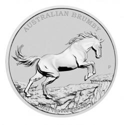 1 oz Brumby 2021 BU Perth Mint