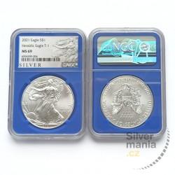 1 oz US Eagle 2021 Heraldig...