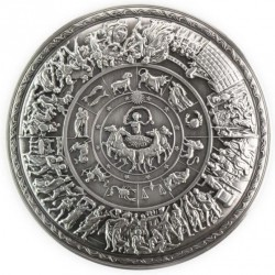 silver 2 oz Achilles shield...