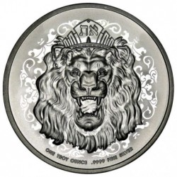 1 oz Roaring Lion 2021 Niue