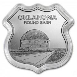 1 oz ROUTE 66 Oklahoma...