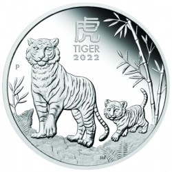 1 oz Year of the Tiger 2021...