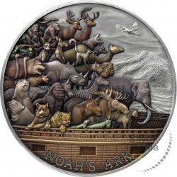 Exclusive silver coin 5 oz...