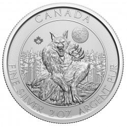 silver coin 2 oz Canada The...