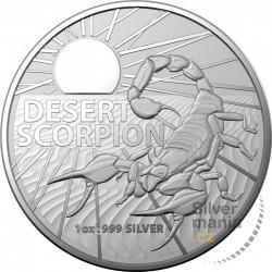 1 oz Pouštní škorpion 2022 BU