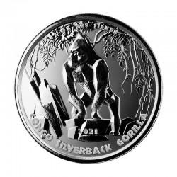 1 oz Silverback Gorilla...