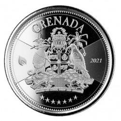 1 oz Coat of Arms Grenada...