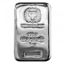 Silver cast bar 5 oz...