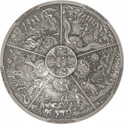 3 oz Aztec Five Suns 2022...