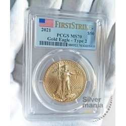 zlatá mince 1 oz American...