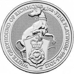 platinová mince 1 oz Queens...