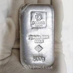 500g Stříbrný slitek Doduco...