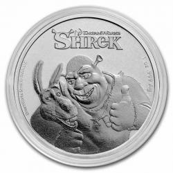 1 oz Shrek Dream Works 2021 BU