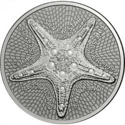 silver coin 1 oz Starfish...