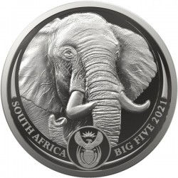 1 oz Big Five II Elephant...