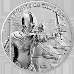 1 oz 5 EURO Knights of the...