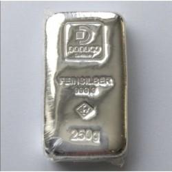 250 g Stříbrný slitek...