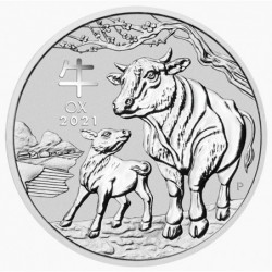 1 kg Year of the Ox 2021 BU