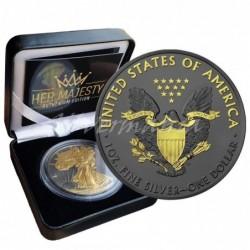 1 oz US Eagle Her Majesty...