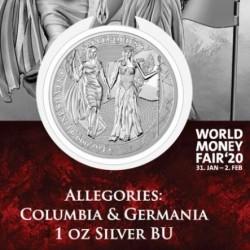 1 oz Germania 2019 Columbia...