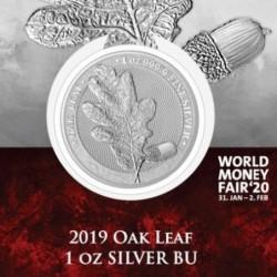 1 oz Germania 2019 Oak Leaf...