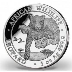 1 oz Somálsko Leopard 2020