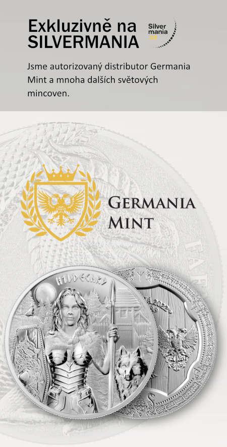 Fafnir stříbrná mince